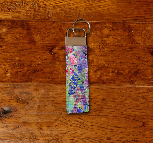 'Flower Passion' Keyring