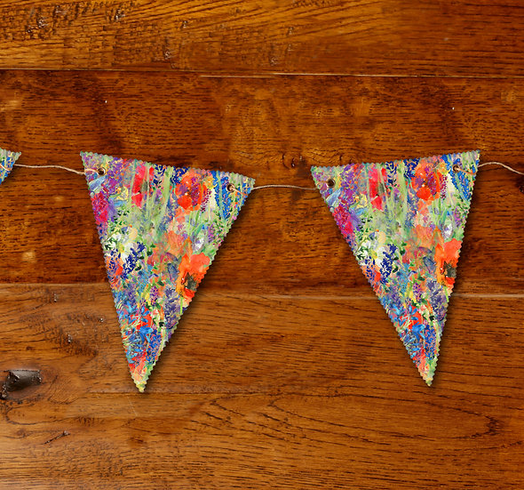 'Flower Explosion' Bunting