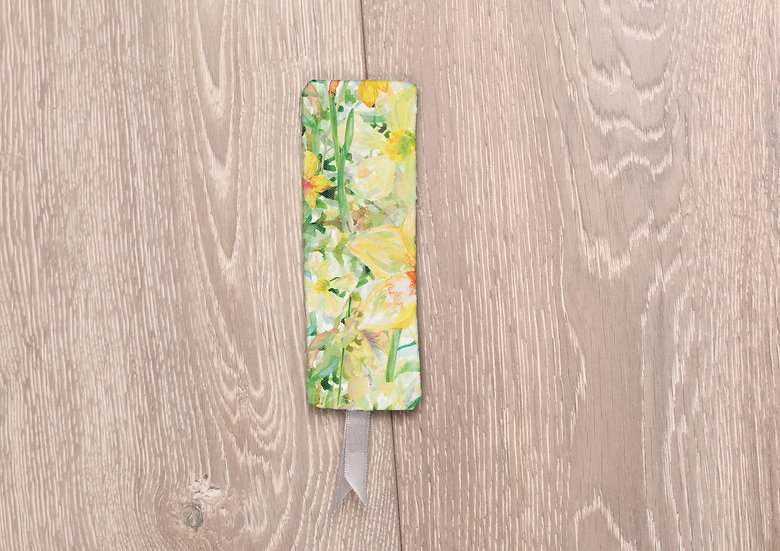 'Daffodil Crazy' Bookmark