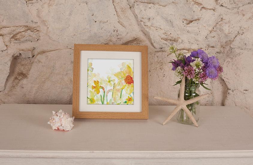 'Spring Daffodils' Print