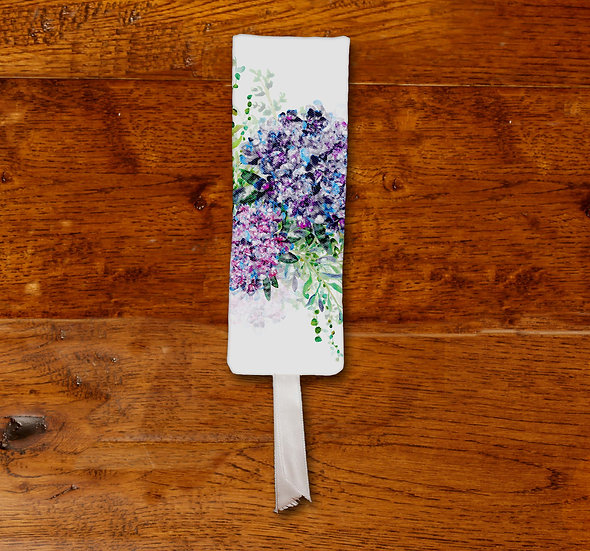 'Hydrangea Bouquet' Bookmark