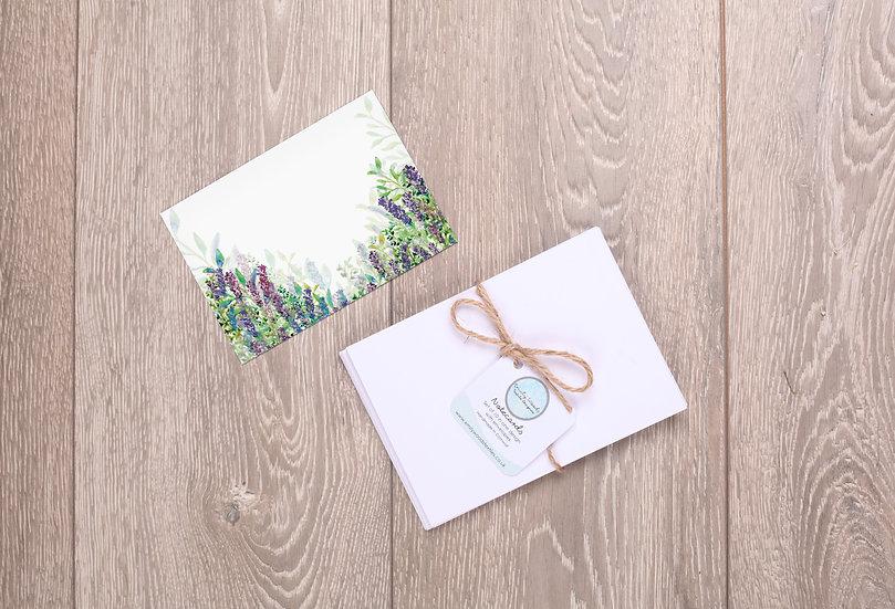 'Lavender Garden' Notecards
