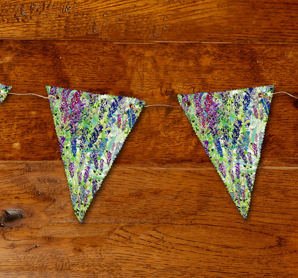 'Into the Wilderness' Bunting