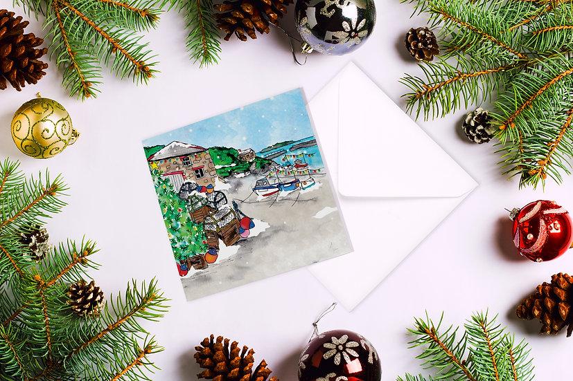 Mullion Harbour Christmas Card