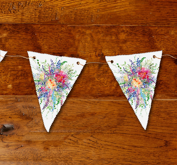 'Spring Bouquet' Bunting