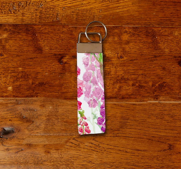 'Foxglove Clusters' Keyring