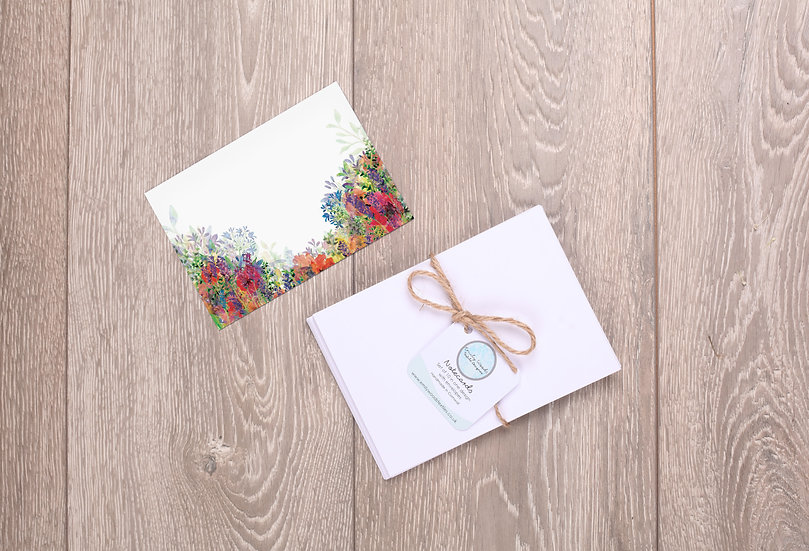 'All in Bloom' Notecards