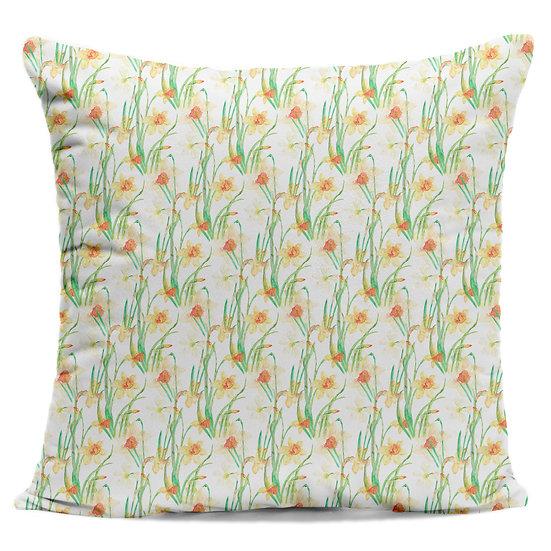 Daffodil Field Cushion
