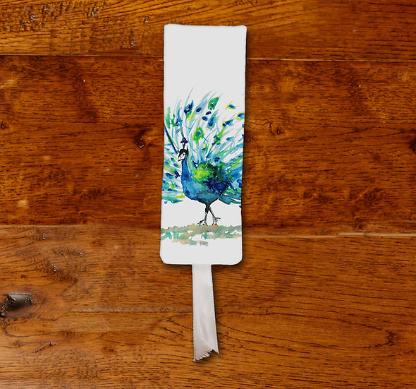 'Peacock' Bookmark