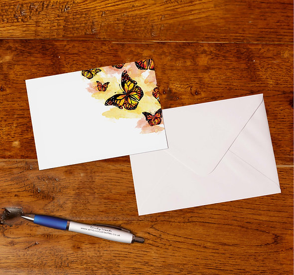 'Butterflies' Notecards