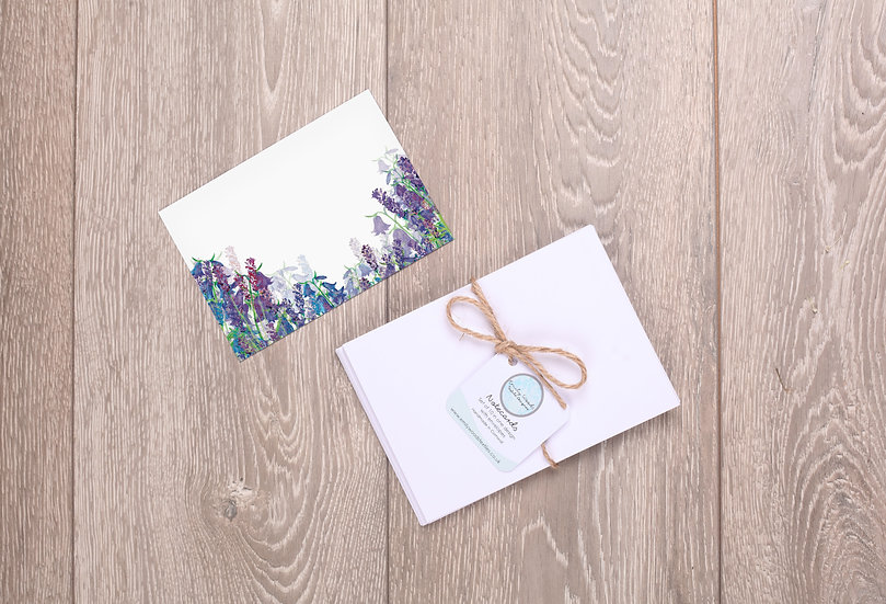 'All in Blue' Notecards
