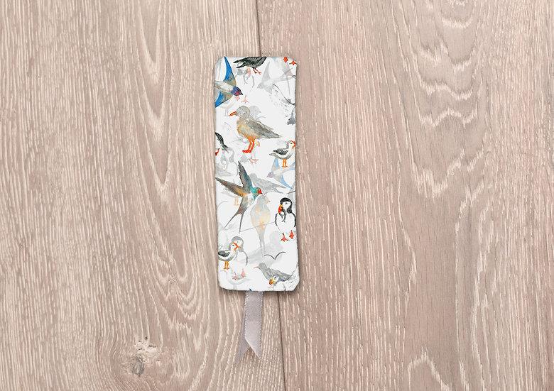 'Scattered Birds' Bookmark
