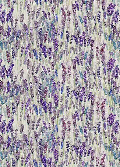 'Lavender Field' Fabric