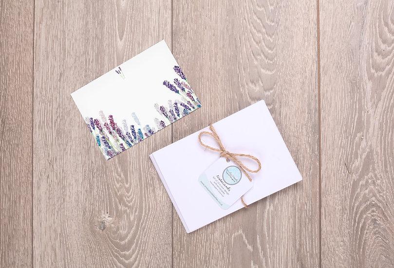 'Wild Lavender' Notecards