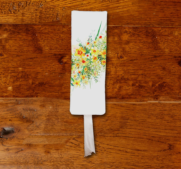 'Daffodil Bouquet' Bookmark