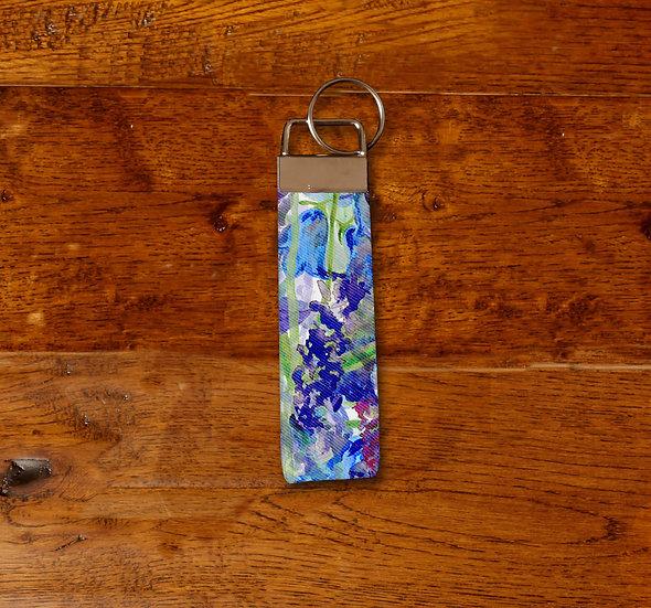 'Blooming Bluebells' Keyring