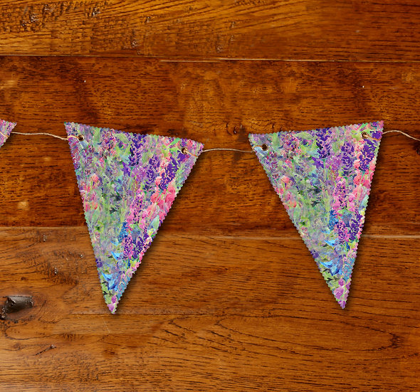 'Flower Passion' Bunting