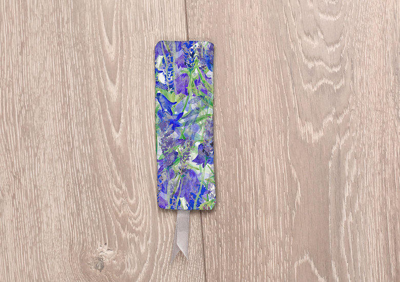 'Blooming Bluebells' Bookmark