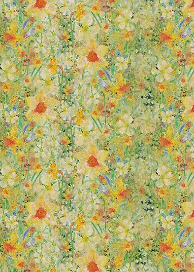 'Daffodil Crazy' Fabric