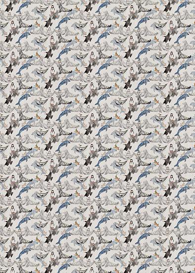 'Playful Creatures' Fabric
