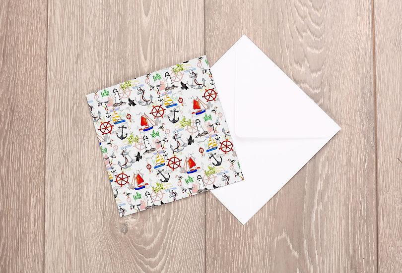 'Nautical' Greetings Card