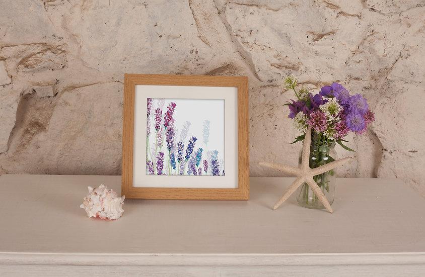 'Wild Lavender' Print