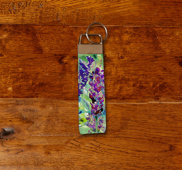 'Into the Wilderness' Keyring