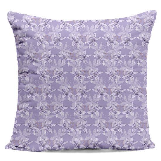 Agapanthus Petals Cushion