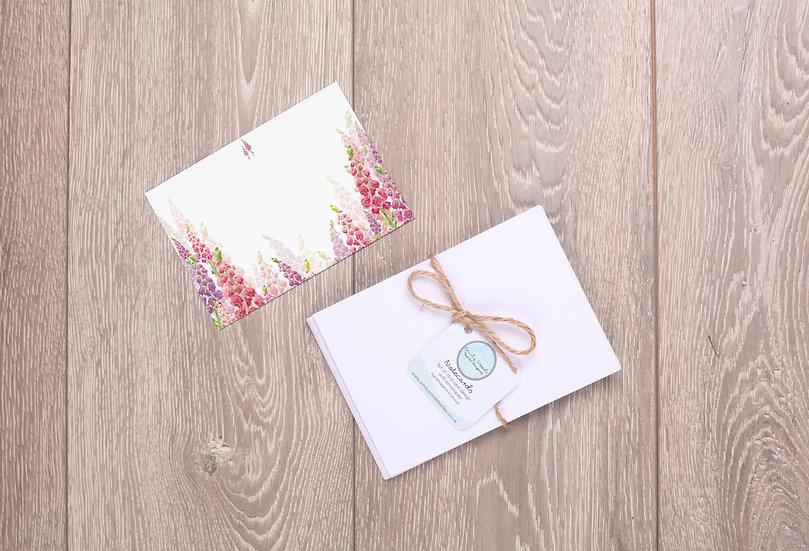 'Wild Foxgloves' Notecards