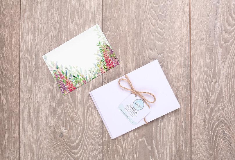 'Foxglove Garden' Notecards