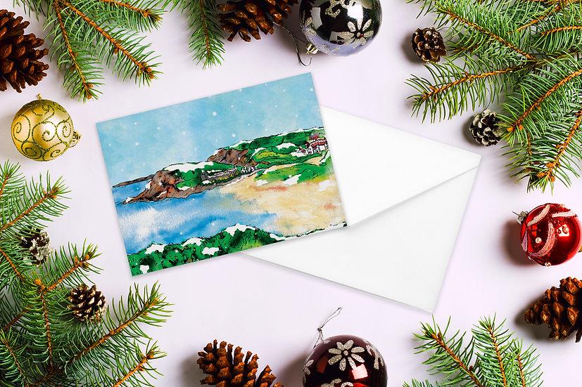 Gunwalloe Christmas Card
