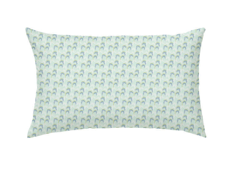 Bluebell Field Cushion