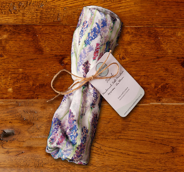 'Lavender Field' Scarf