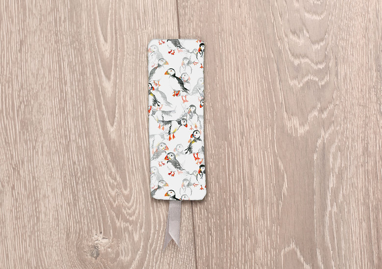 'Puffin Frenzy' Bookmark