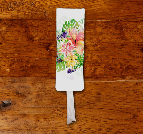 'Tropical Bloom' Bookmark