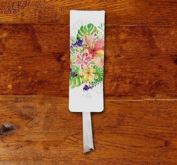 'Tropical Bloom' Bookmark