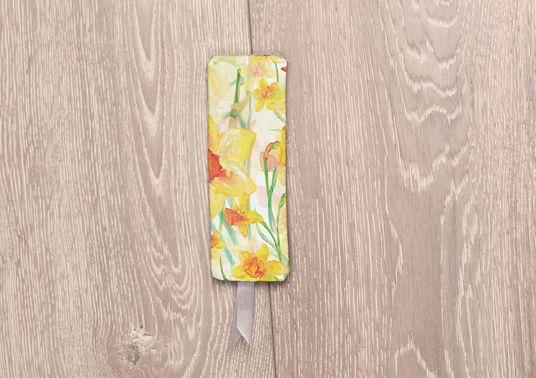 'Daffodil Blooms' Bookmark