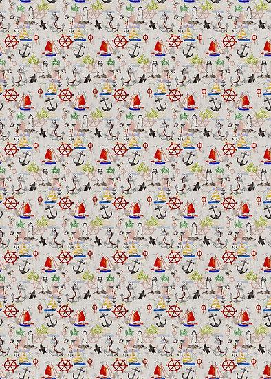 'Nautical' Fabric