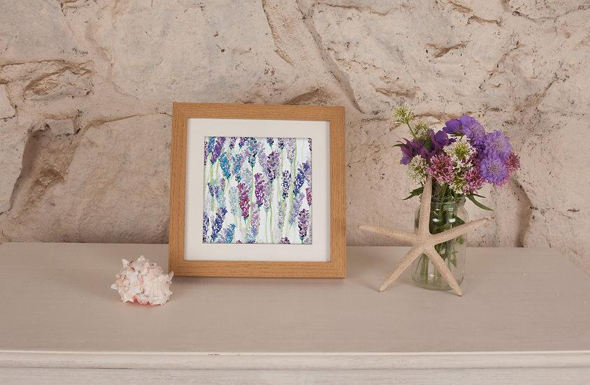 'Lavender Field' Print