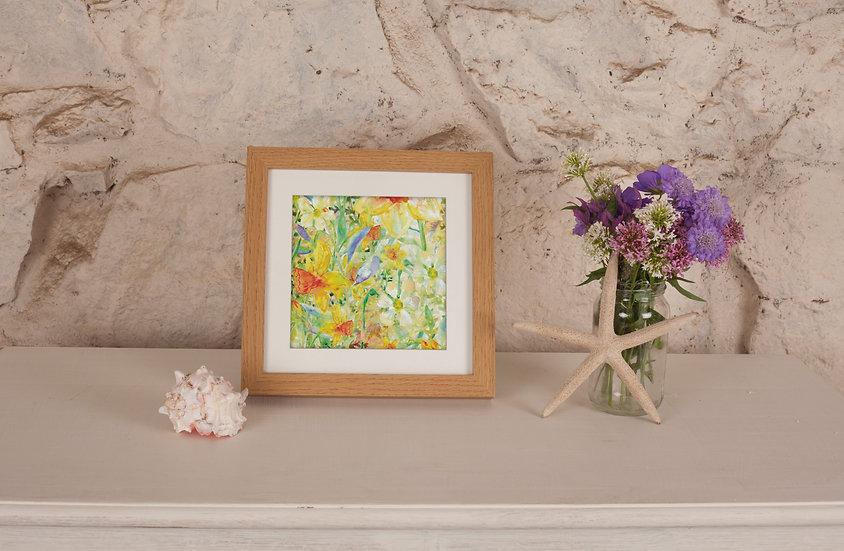 'Daffodil Crazy' Print