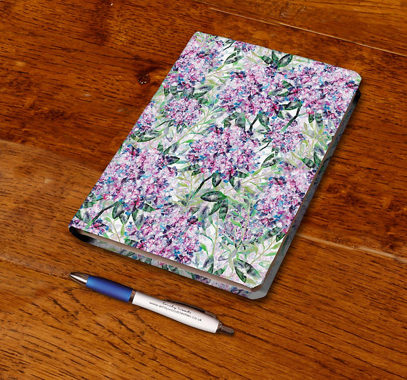 'Hydrangeas' Notebook