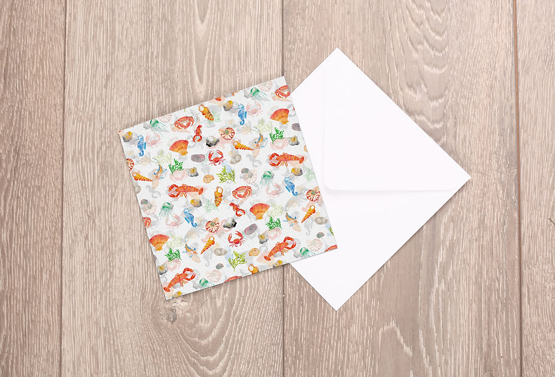 'Under the Sea' Greetings Card