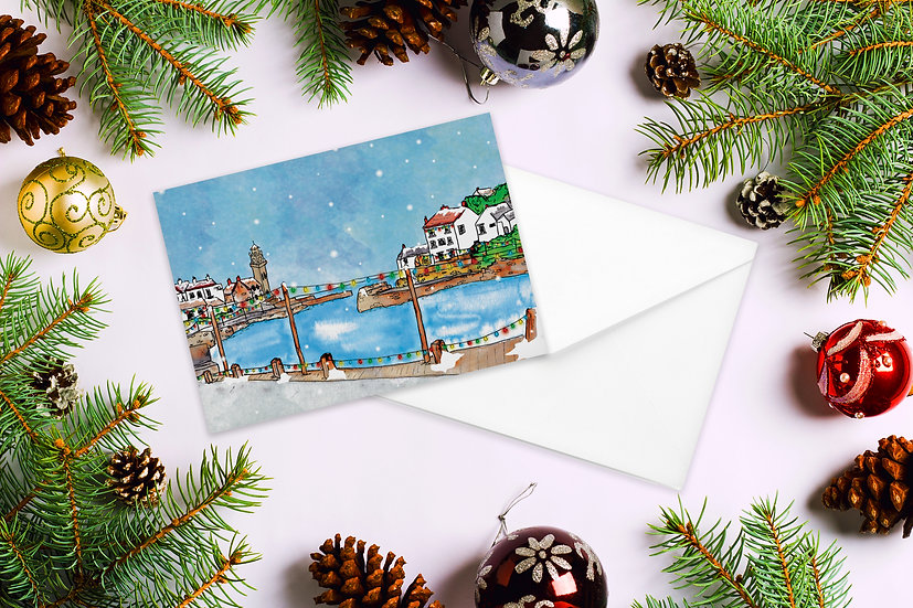 Porthleven Christmas Card
