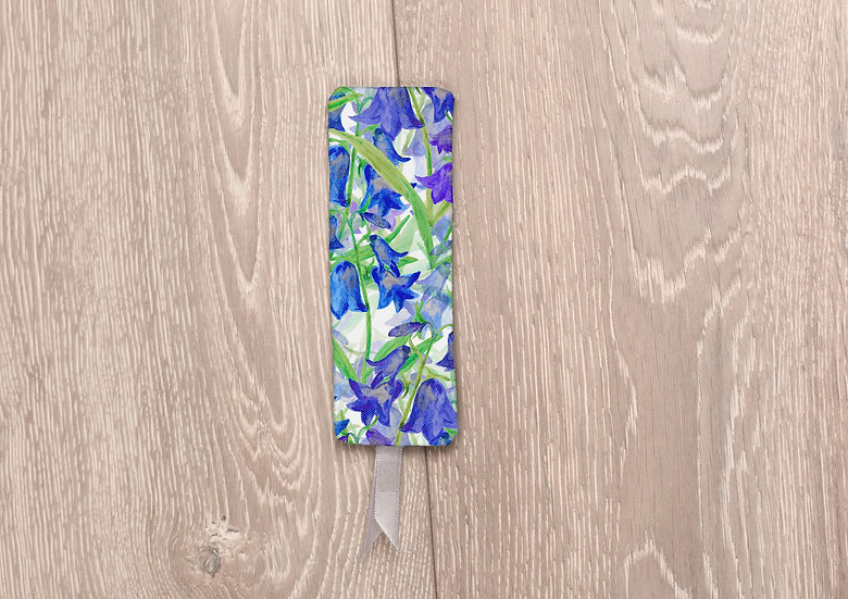 'Bluebell Clusters' Bookmark