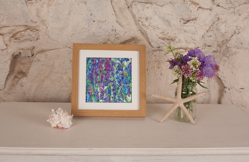 'Blooming Bluebells' Print