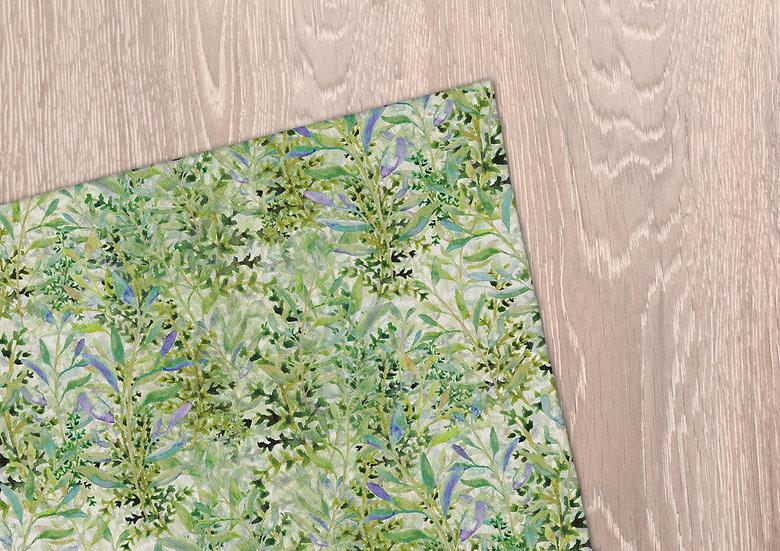 'Spring Foliage' Tea Towel