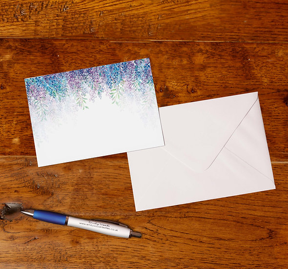 'Wisteria' Notecards