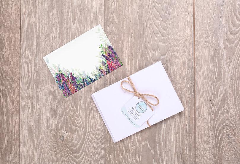 'Flourishing Flowers' Notecards