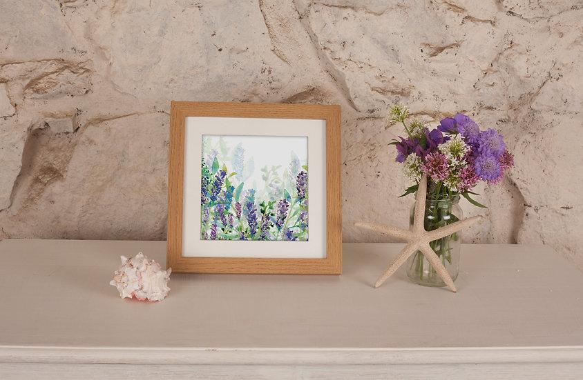 'Lavender Garden' Print