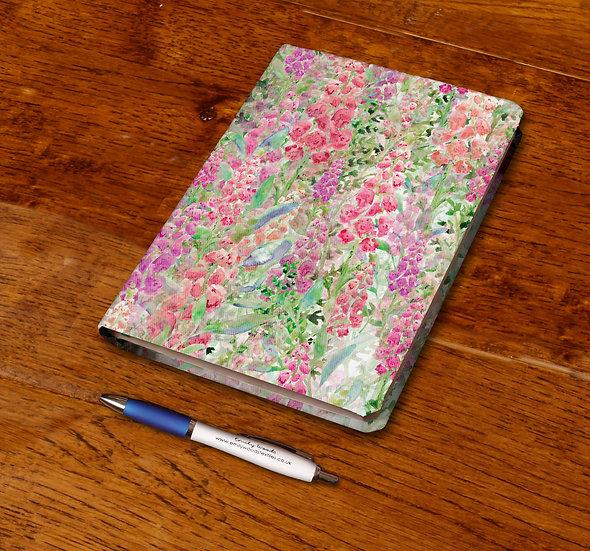 'Foxglove Frenzy' Notebook
